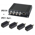 Удлинитель Ethernet SC&T IP01K